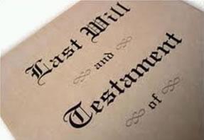 Last wills and inheritance
